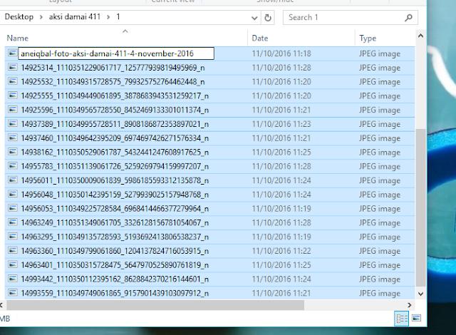 cara merename banyak file di windows