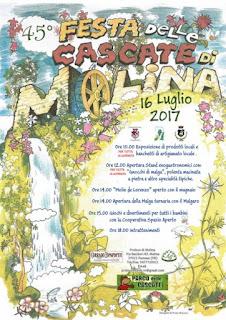 La festa delle cascate di Molina 16 luglio Molina di Fumane (Vr)