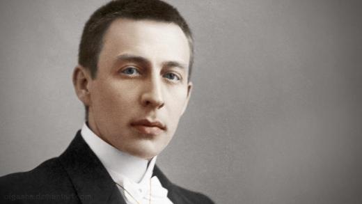 Rachmaninov joven color