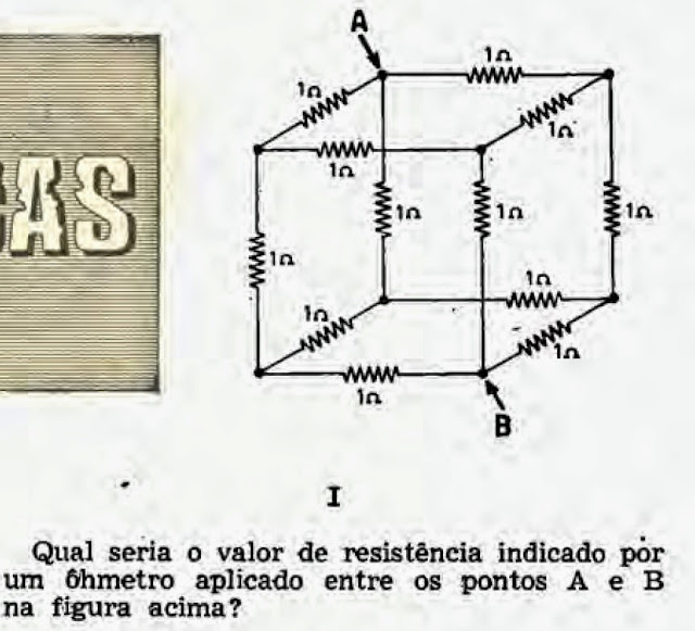 Problema de eletricidade com resistores
