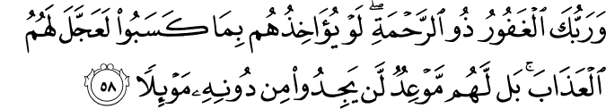 Surat Al Kahfi Ayat 58