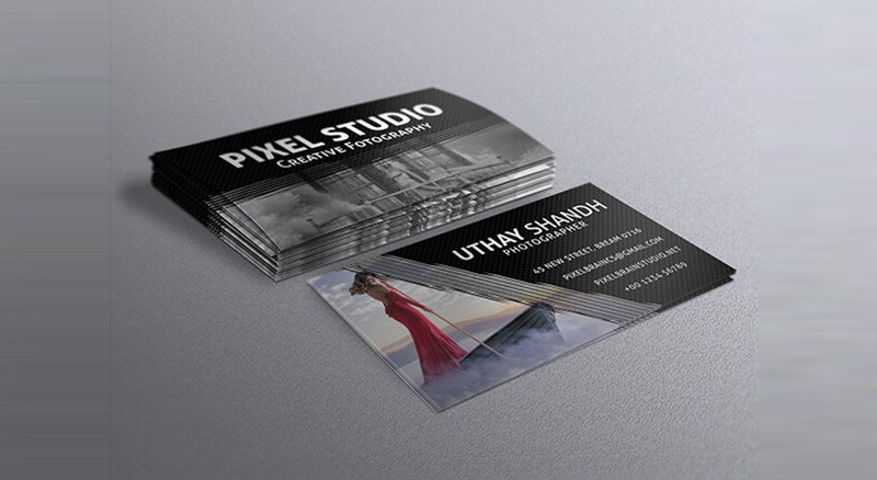 Best Free PSD Business Card Templates Photoshop Download - Photography business cards templates for photoshop