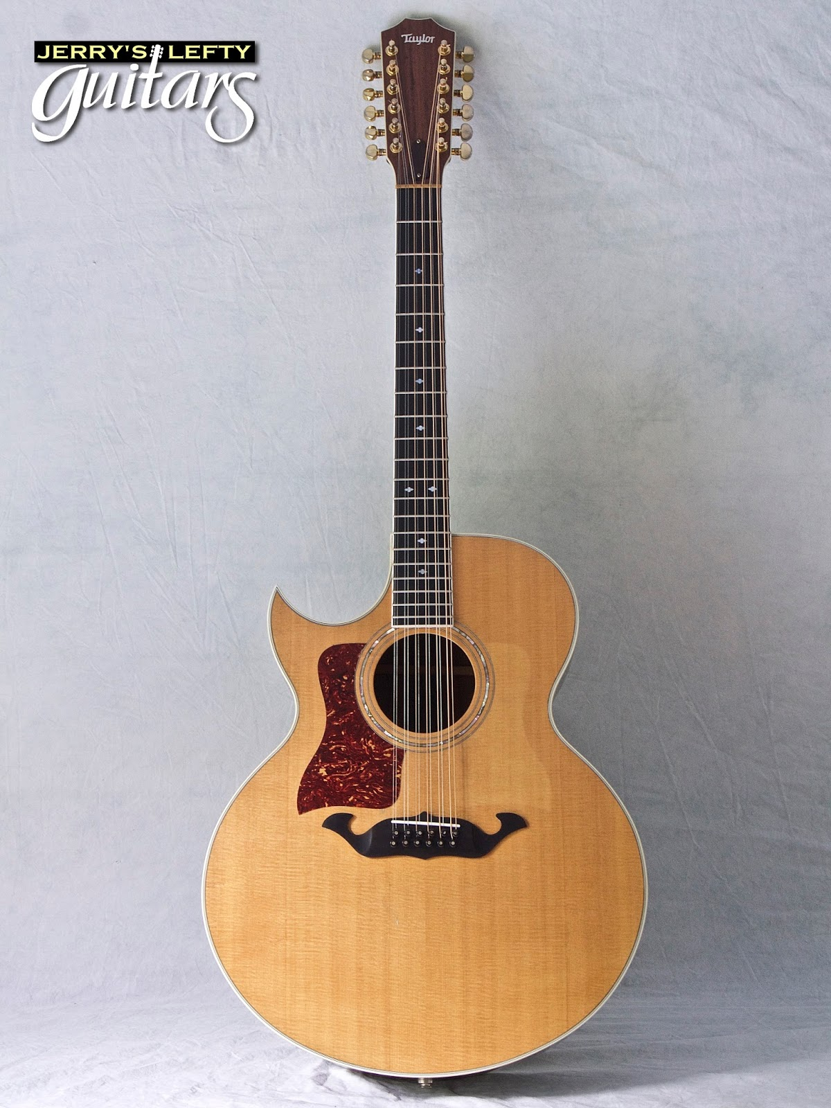 jerry 39 s lefty guitars newest guitar arrivals updated weekly 1984 taylor 855ce 12 string left. Black Bedroom Furniture Sets. Home Design Ideas