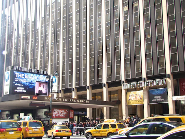 FACHADA DO MADISON SQUARE GARDEN