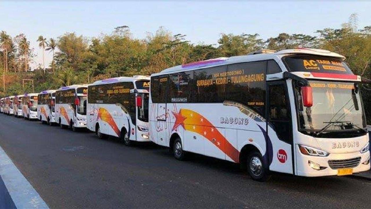 Jadwal Keberangkatan PATAS Bagong Tulungagung-Surabaya Via Tol Kertosono Terbaru