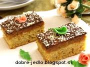 Kukurično-špaldový koláč s jablkami - recept