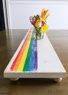 How to make a Rainbow Wooden Table Runner