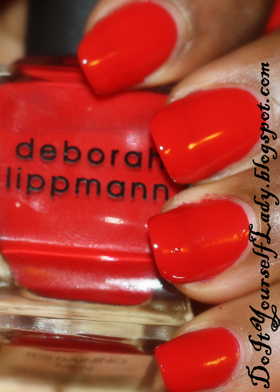 Deborah Lippmann - It's Raining Men Swatch