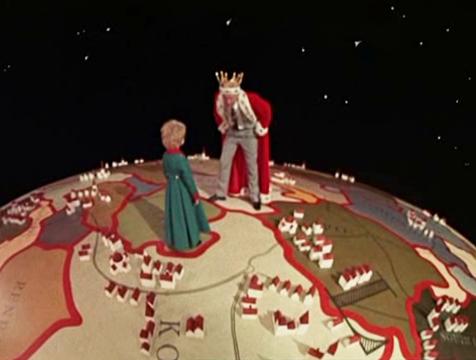 El rey (Joss Ackland) y el Principito (Steven Warner) en la película de Stanley Donen (1974) - Cine de Escritor