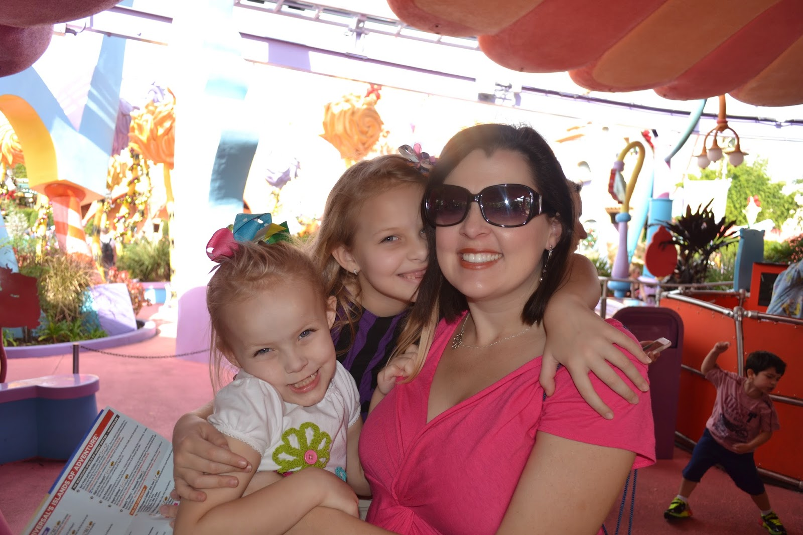 Waiting for the carousel at Universal - Islands of Adventure