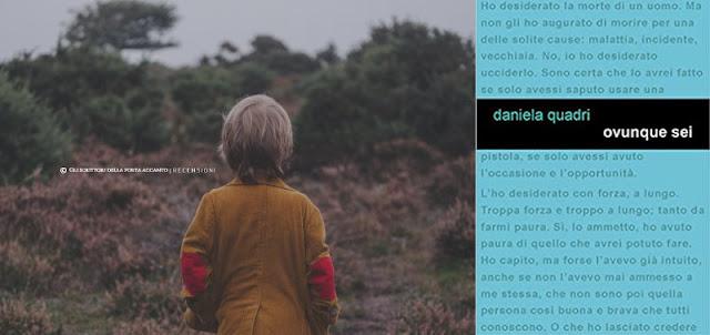 Ovunque sei, di Daniela Quadri - Copertina
