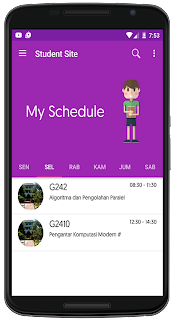 Student Site Mobile App