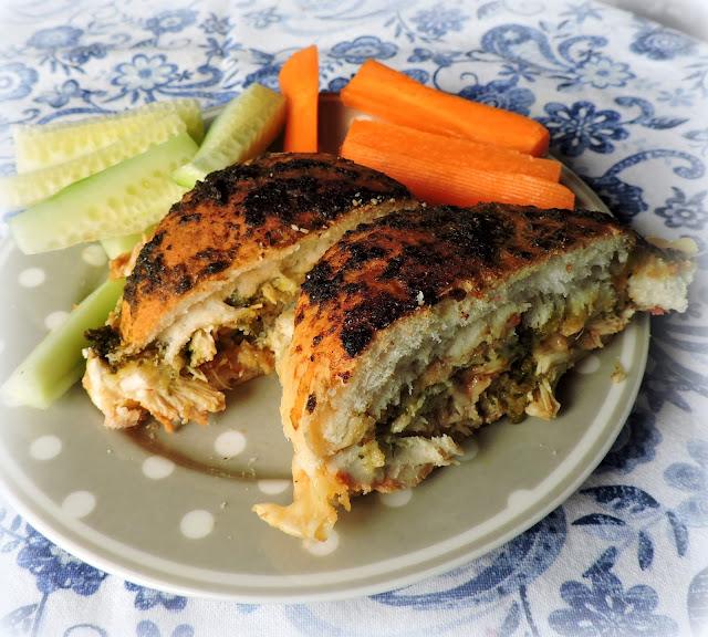 Honey & Basil Hot Chicken Sandwiches