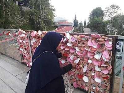 Tempat berphoto di Bukit Bendera Penang
