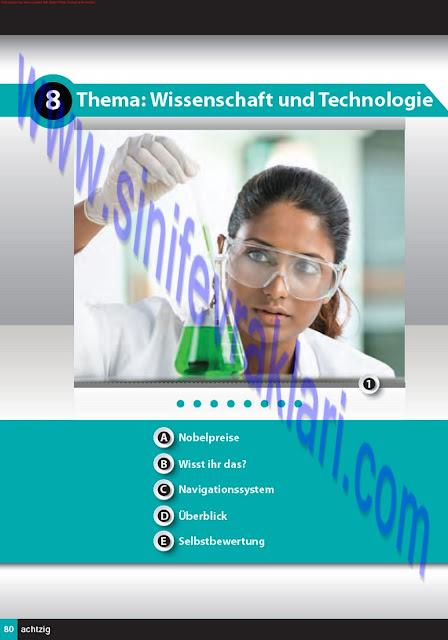 11. Sınıf Almanca A1.2 Çıpa Yayınları Ders Kitabı Cevapları Sayfa 80