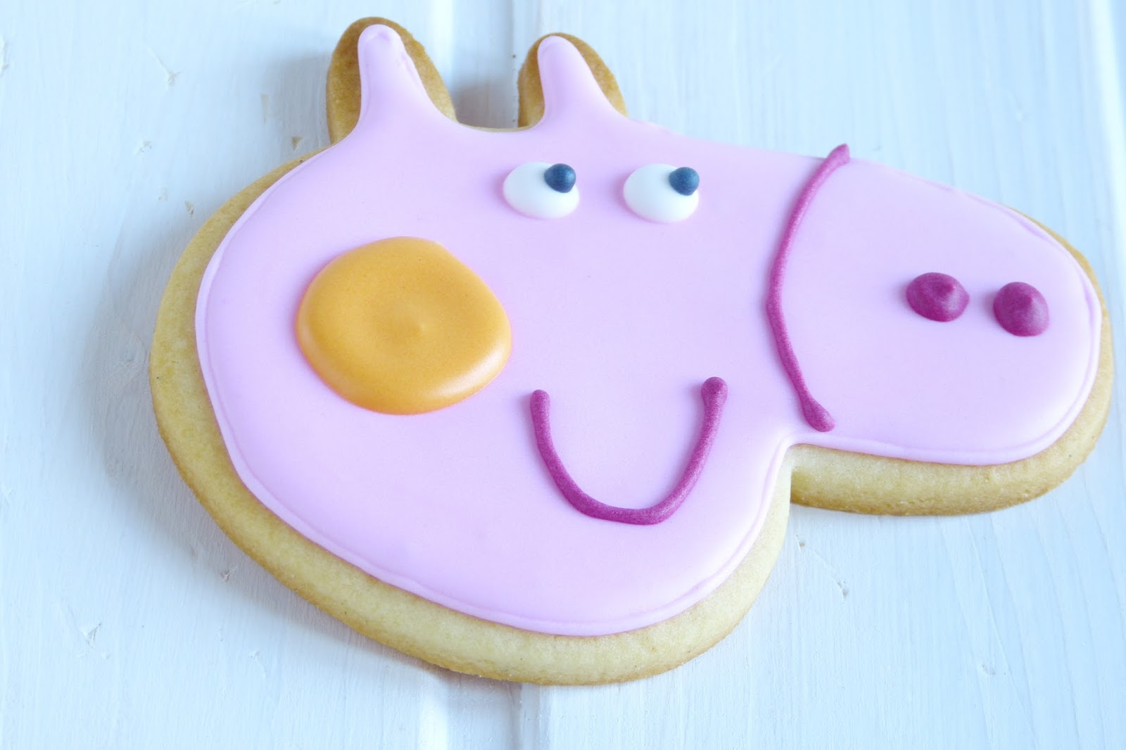 Decorar Con Glasa Real DecoraciÓn De Galletas Con Glasa Paso A Paso Galletas Peppa Pig