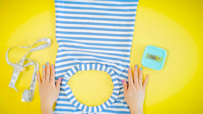 Learn to Sew Jersey Tops - online sewing course
