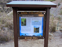 Fish Canyon access trail opening day June 21, 2014