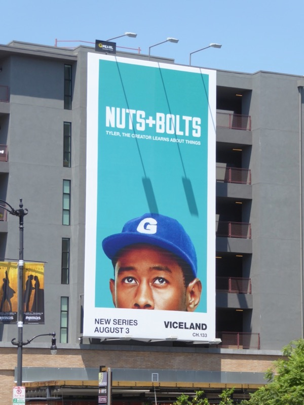 Nuts and Bolts series premiere billboard