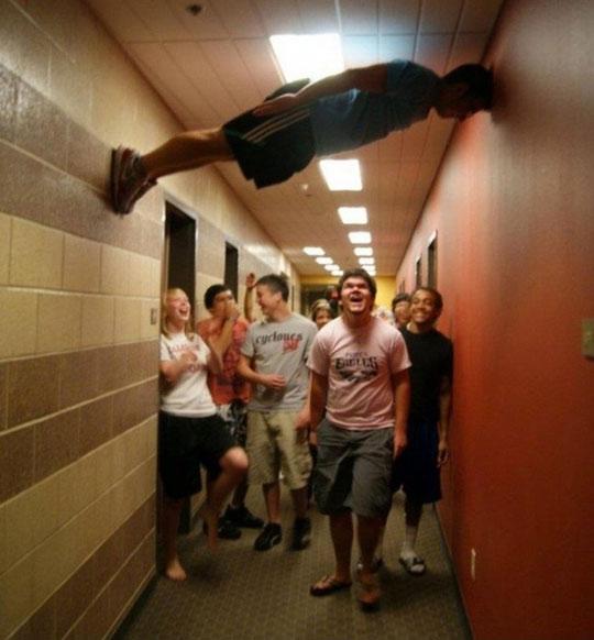 planking like a boss