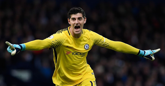 Thibaut Courtois Contract Talks At Chelsea On Hold