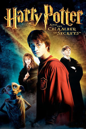Poster Of Harry Potter and the Chamber of Secrets 2002 In Hindi Bluray 1080P HEVC Free Download