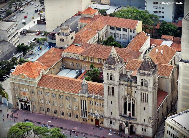 Vista aérea do Mosteiro de São Bento - Centro - São Paulo