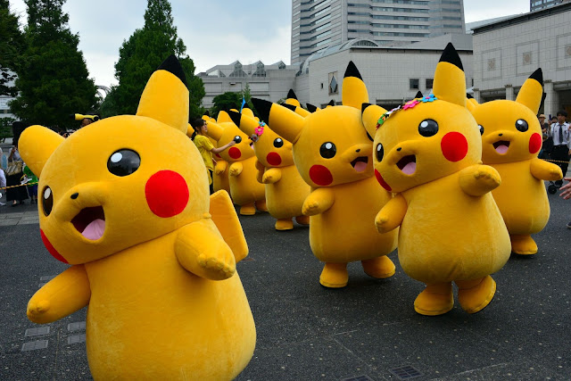 ေနာက္ဆုံးေပၚနည္းပညာနဲ႔ တေခတ္ဆန္းလိုက္တဲ့ Pokemon-GO ေပါက္