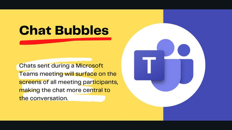 Chat Bubbles are coming to Microsoft Teams client for Windows