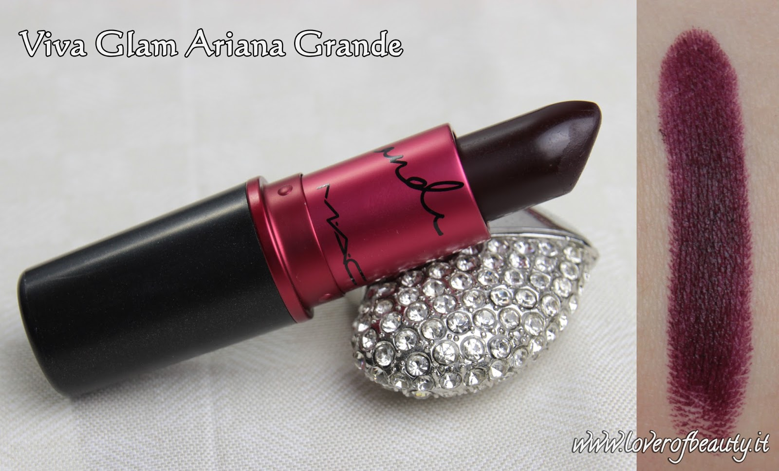 Recensione Beauty GrandeLover Ariana Of Glam MacViva I9WD2EH
