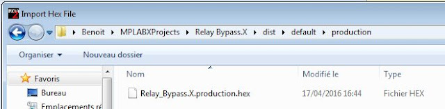 MPLAb Data import