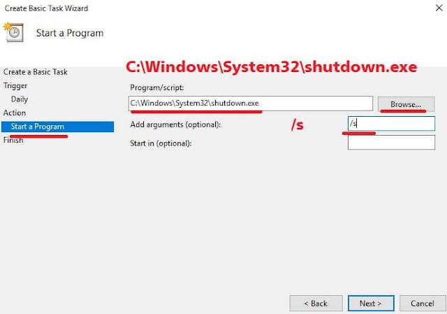 cara mematikan komputer otomatis-auto shutdown