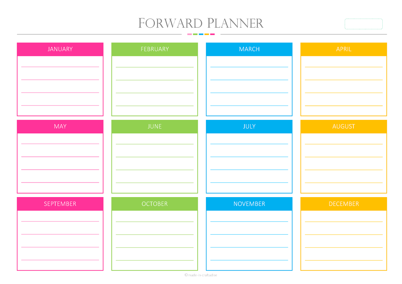 ... Planner 2014 Printables: It's all about writing your plans and then
