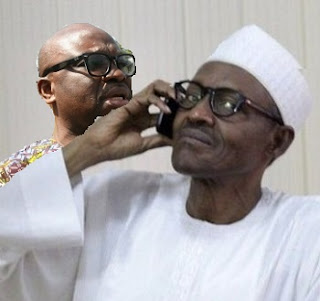 Fayose and Buhari phone call