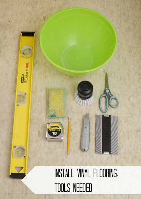 DIY Bathroom Tools to Use to Install Vinyl Wood Plank Floors