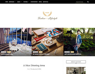 LifeStyle Blog Blogger Template