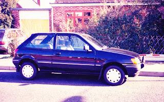 G464NKL Ford Fiesta 1600S 1989