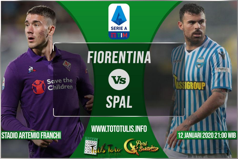Prediksi Fiorentina vs SPAL 12 Januari 2020