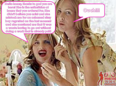 A big misunderstanding Sissy TG Caption - TG Captions and more - Crossdressing and Sissy Tales and Captioned images