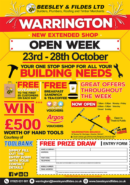 Warrington Open Week