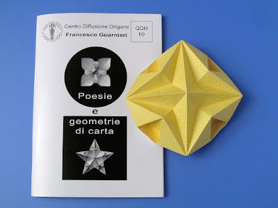 origami, Booklet QQM 60 and Stella dodecagonale – Dodecagonal Star.