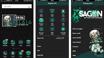 Download Theme XSagon Terbaru untuk Semua Device Oppo Smartphone