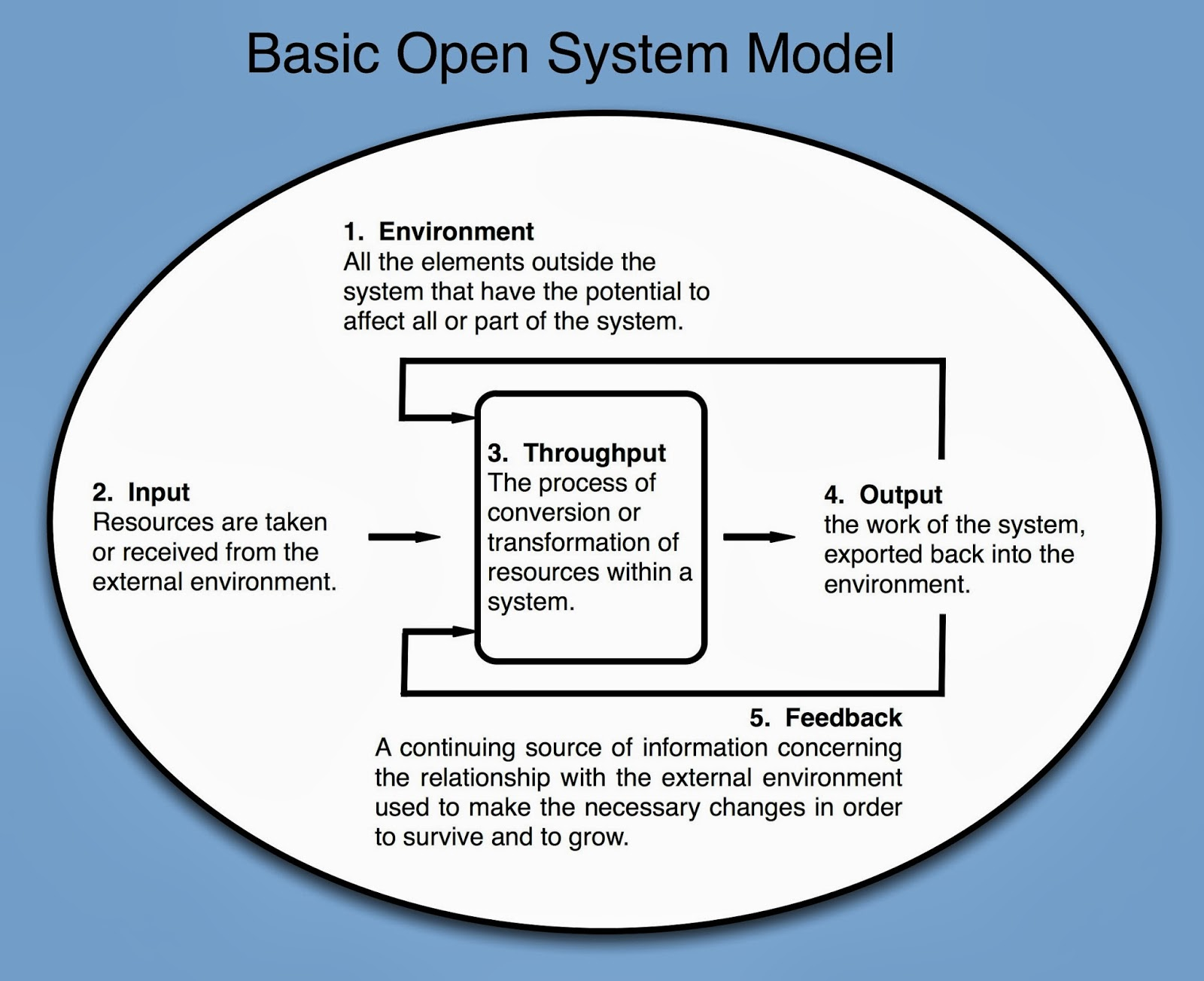 open systems model business plans