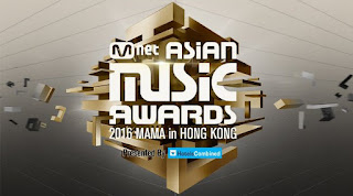 Nominasi Pemenang Mama Mnet Asian Music Awards 2016