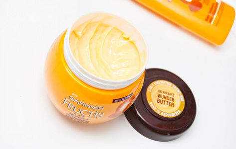 Review Garnier Fructis Wunder Butter Creme Kur