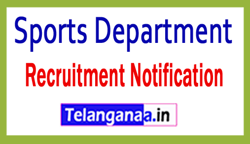 Sports Department Recruitment