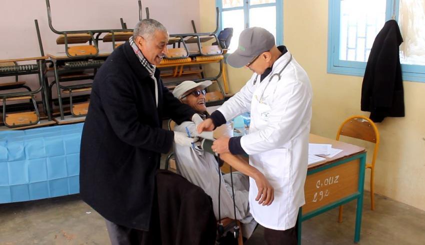 تارودانت: انطلاق الحملة الطبية متعددة التخصصات في محطتها الرابعة بأوزيوة