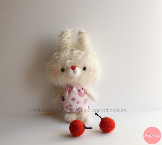 mohair doll softie sweet