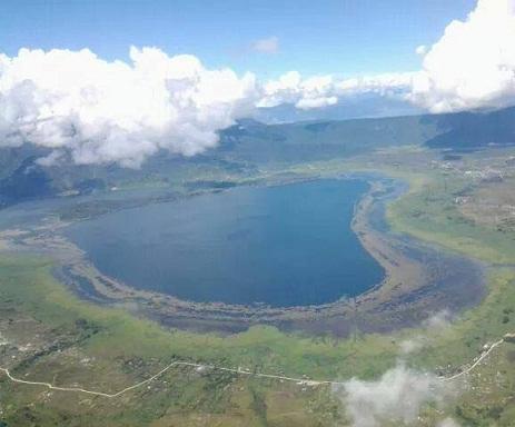 Danau Tigi, Terbesar kedua dari 3 Danau terbesar di dataran tinggi Meuwo