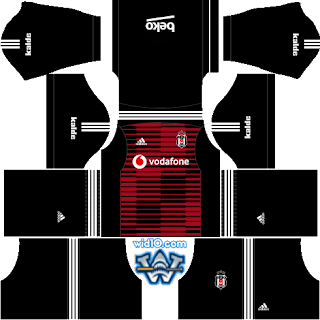 beşiktaş dream league soccer forma ve logo